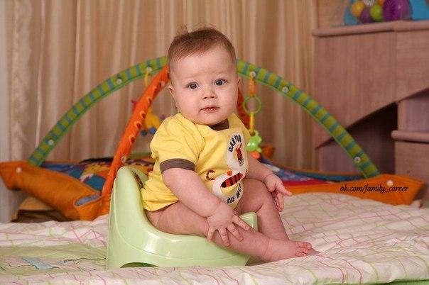 Как научить малыша ходить на горшок