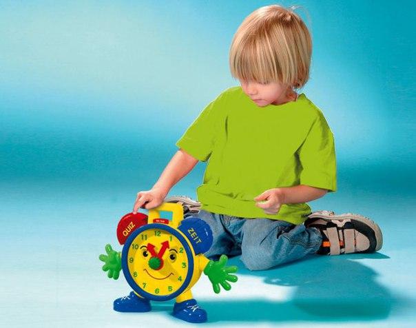 Формирование у ребенка представлений о времени