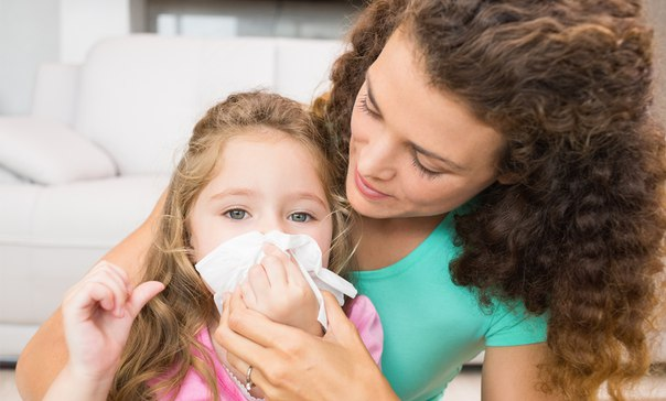 Снимаем заложенность носа у ребенка