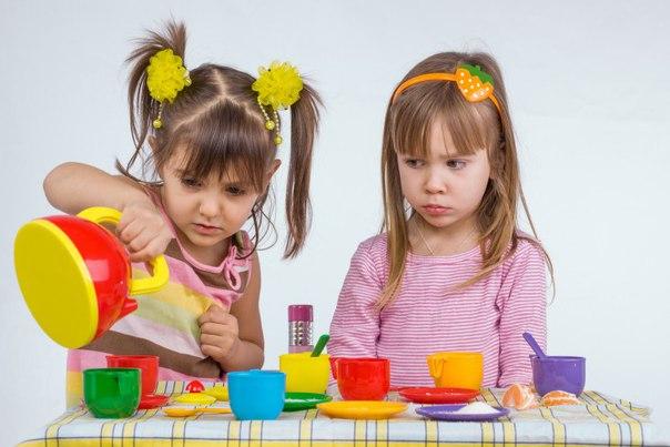 Проявление жадности у ребенка