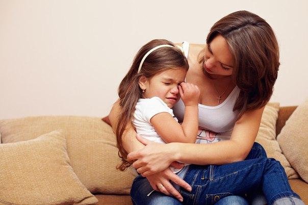 Как успокоить ребенка правильно
