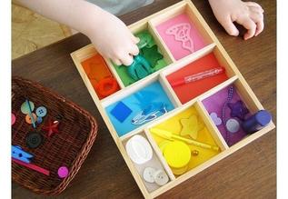 Знакомство с цветом. Сортировка предметов по цвету