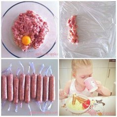 Куриные сосиски для детей