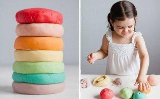 Безопасный пластилин для ребенка своими руками