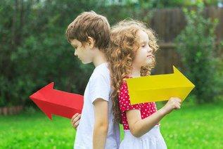 Право и лево: как научить ребенка ориентироваться